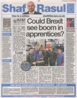 Could Brexit see boom in apprentices.