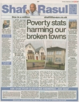 Poverty Statistics are Harming our broken towns.