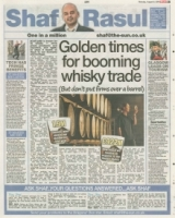 Golden Times for booming whisky trade but dont put firms over a barrel