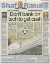 Dont bank on tech to get cash