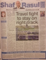 Travel fight to stay on right track
