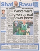 Waste wars given us a real power boost.