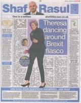 Theresa dancing around Brexit fiasco