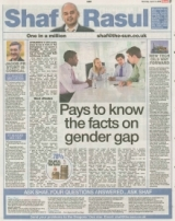 Pays to know the facts on gender gap.