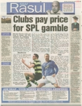 Clubs pay price for SPL gamble