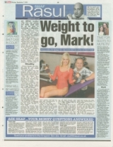 Weight to go, Mark!